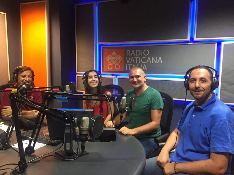 Dario Pasquarella, Davide Baia e Giulia Zumpano in radio